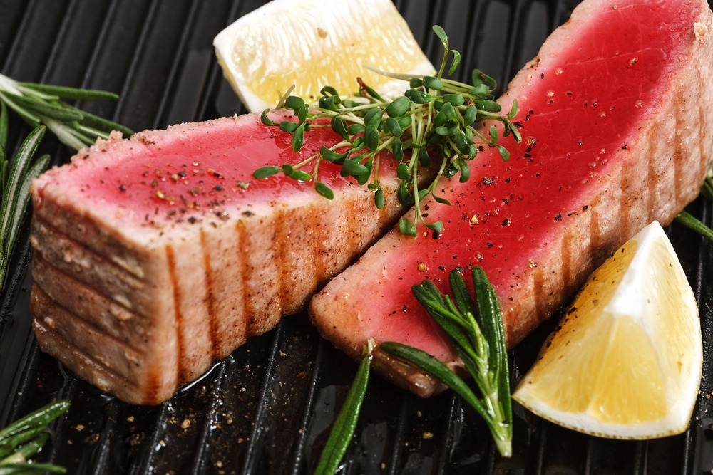 eten bij Lorlando tonijn