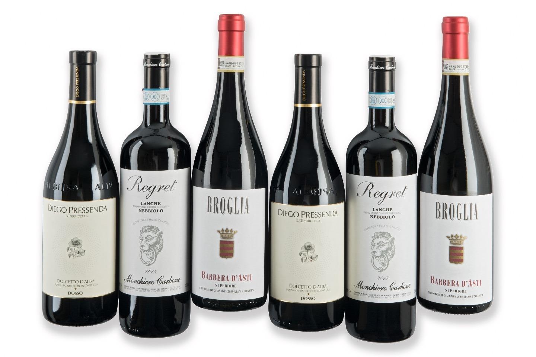 Rode wijn Piemonte