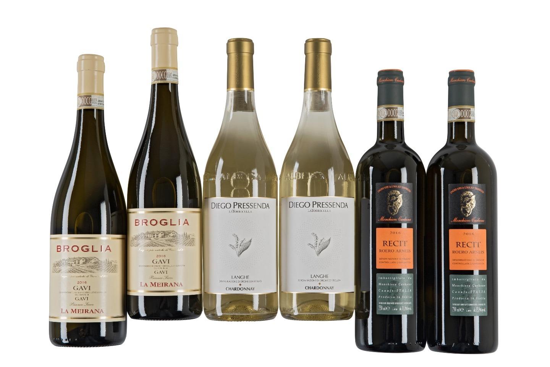 Witte wijn Piemonte